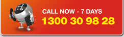 Call Now 7 Days - 1300 30 98 28